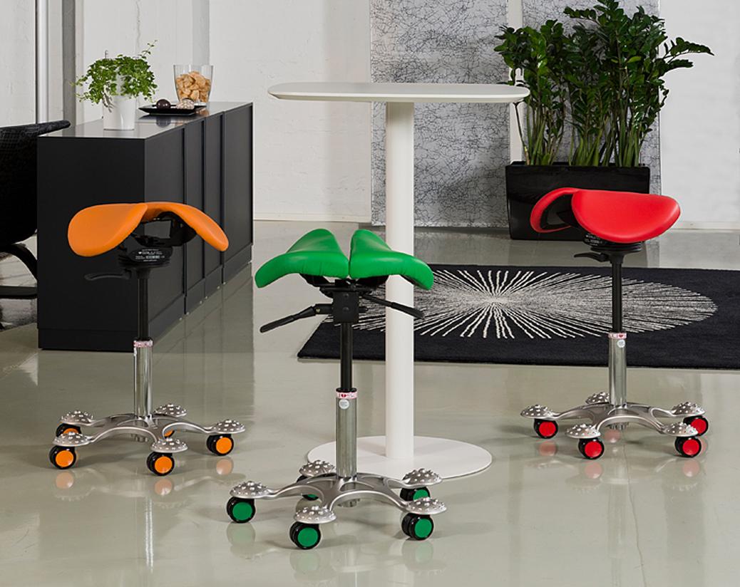 asientos salli tipo silla de montar para oficinas ágiles