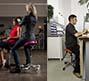 asientos tipo silla de montar para centros de estetica y peluquerías
