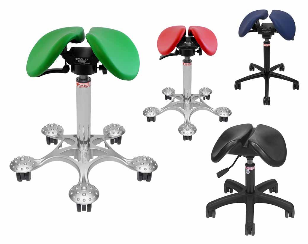 taburete tipo silla de montar para clinicas belleza y odontología dentistas