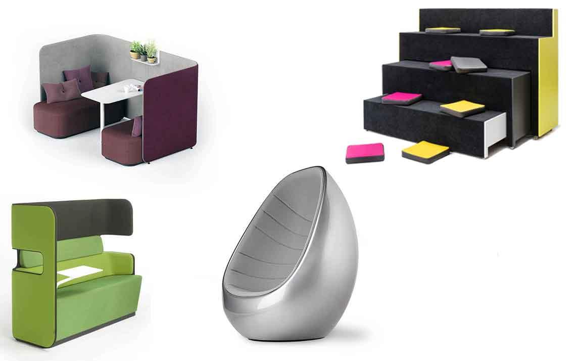 Mobiliário para Empresas Ágeis e Criativas