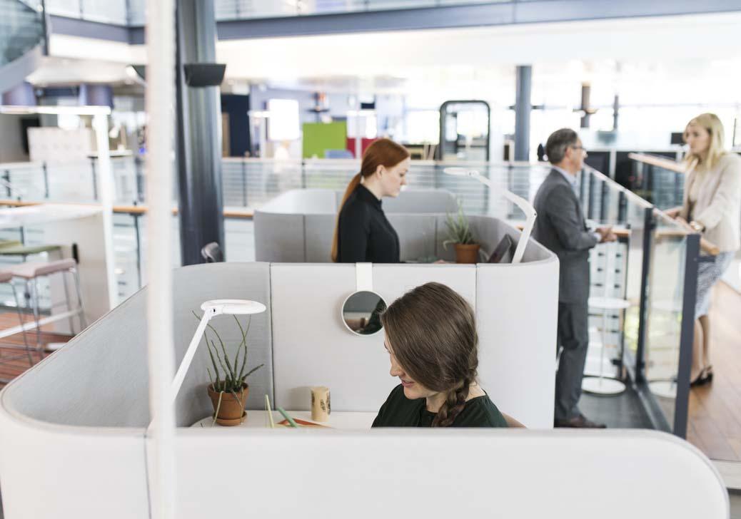 mobiliario de diseño para oficinas agiles y abiertas martela