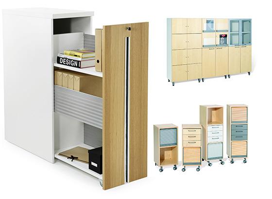 estanterias armarios cajoneras y archivos para oficinas abiertas y ágiles