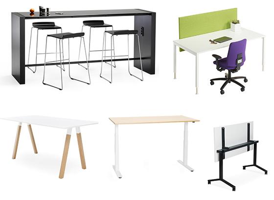 mesas de diseño para oficinas agiles  abiertas y creativas
